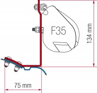 Fiamma F35 Pro Awning Fitting Kits