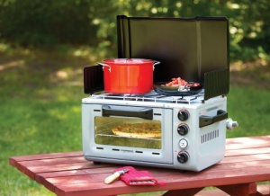 Campingaz Portable Camping Stove Oven With Twin Hob