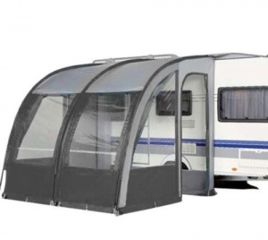 Leisurewize Ontario 260 XL Lightweight Caravan Porch Awning - Charcoal Grey