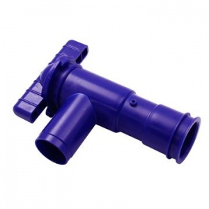28mm Fresh Water Blue Plastic drain Tap