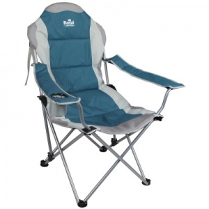 Royal Adjustable Folding Camping Chair - Blue