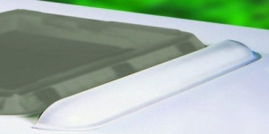 Dometic Seitz Mini Heki Rooflight Spoiler