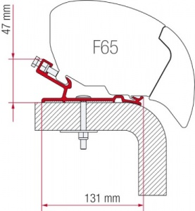 Fiamma F65 Adapter Kit - Hymer