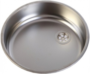 Can Round Stainless Steel Sink 360 (Matt)