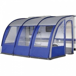 Ontario 390 XL Lightweight Caravan Porch Awning - Blue