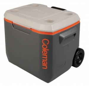 Coleman 50 Quart Xtreme Wheeled Cooler - Tri Colour