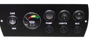 Plug-in-systems Control Panel - Car/Aux/Pump/Battery Meter