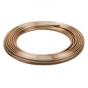Copper Tube 8mm 5/16'' (per metre)