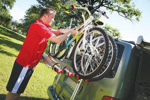 Fiamma Carry-Bike Cycle Rack For VW T5 Tailgate