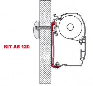 Fiamma F45 Awning Adapter Kit - AS 120