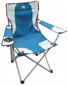 Sunncamp Classic Armchair Folding Camping Chair - Blue