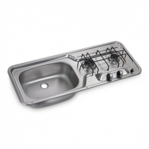 Dometic HS2320L 2 Burner Hob & Sink Combination Unit (Smev 911)