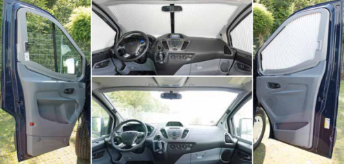 Remis Remifront Cab Blinds For Ford Transit V363