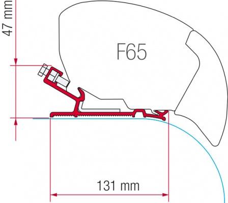 Fiamma F65 F80 Adapter Kit Autocruise