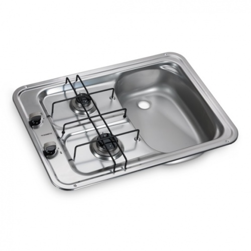 Dometic HS2420R 2 Burner Hob & Sink Combination Unit (Smev 917)