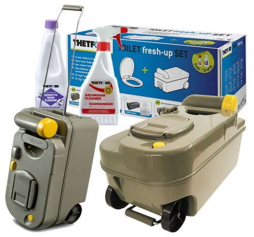 thetford c200 fresh up kit cassette toilet seat chemicals. Black Bedroom Furniture Sets. Home Design Ideas