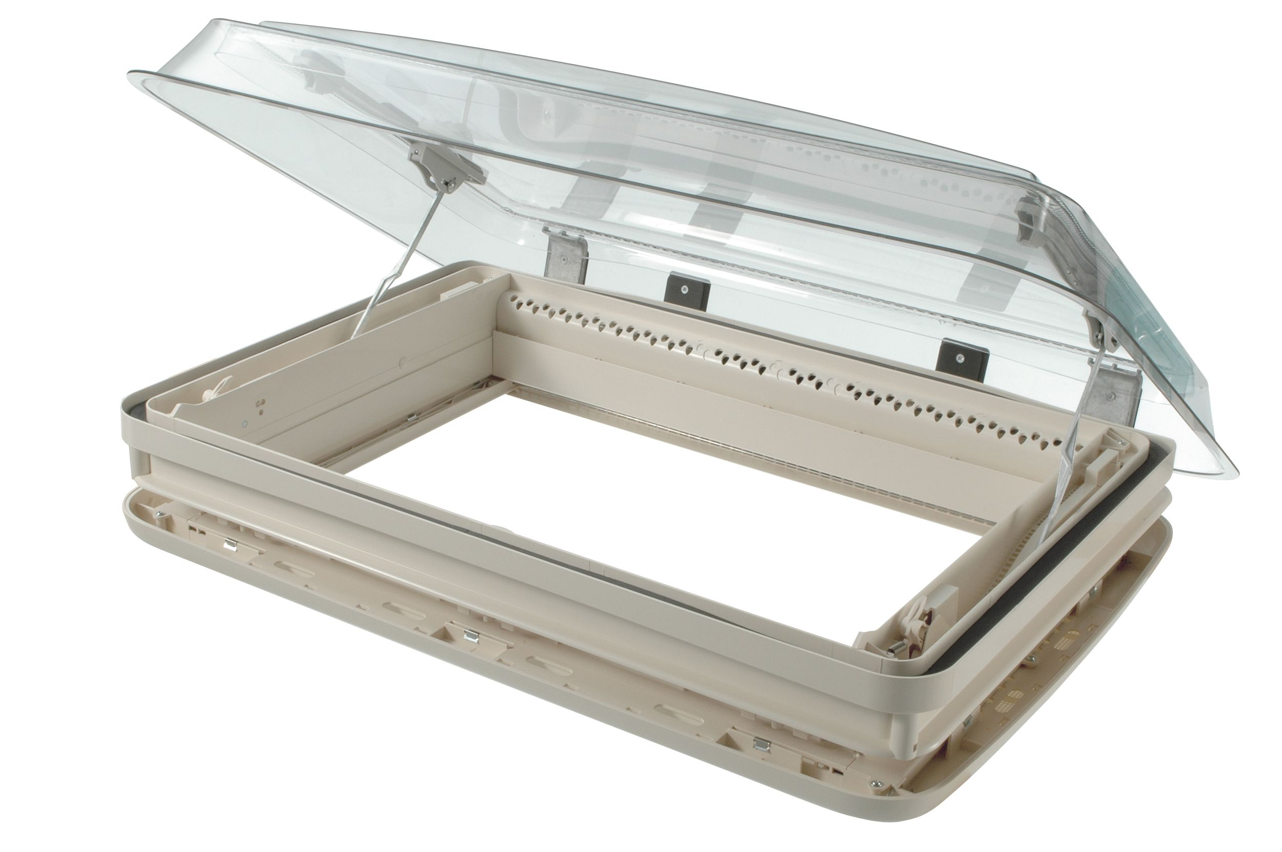 Dometic seitz midi heki rooflight rainbow conversions for Fenetre a manivelle