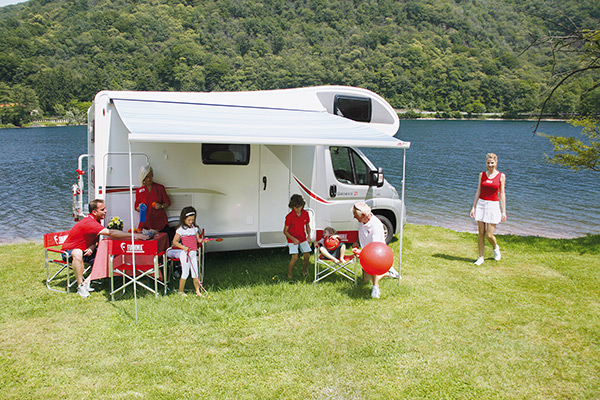 Fiamma F45S Awning For Motorhomes Caravans And Campervans