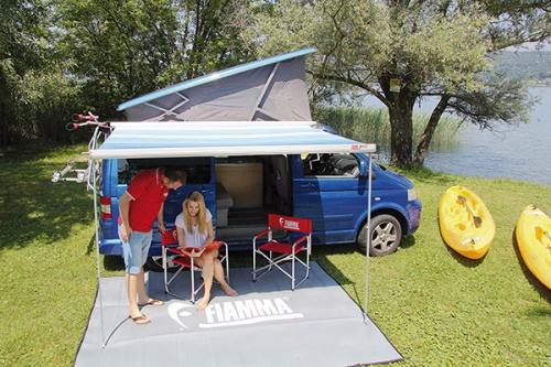 Fiamma F45s Awning For Vw T5 T6 Transporter Campervan