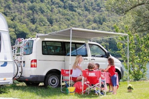 fiamma f35 pro awning for campervans and small caravans. Black Bedroom Furniture Sets. Home Design Ideas