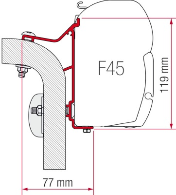 Fiamma f45 awning adapter kit hymer vanb2 asfbconference2016 Gallery
