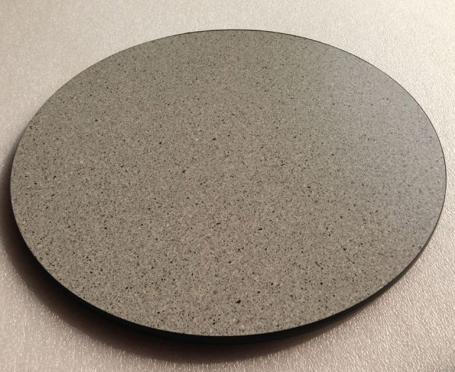 Light Granite Round Wooden Table Top