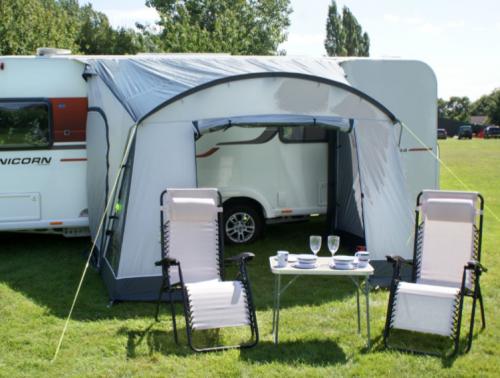 Leisurewize ONTARIO 260 Lightweight Caravan Porch Awning Grey//Charcoal