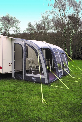 Leisurewize Ontario 260 Xl Lightweight Grey Caravan Porch Awning