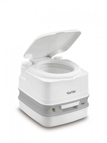 Thetford Porta Potti Qube 335 small camping portable toilet ...