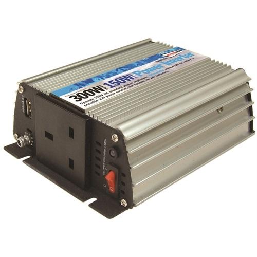 Watt Draw Meter: 240v Mains Power Inverter