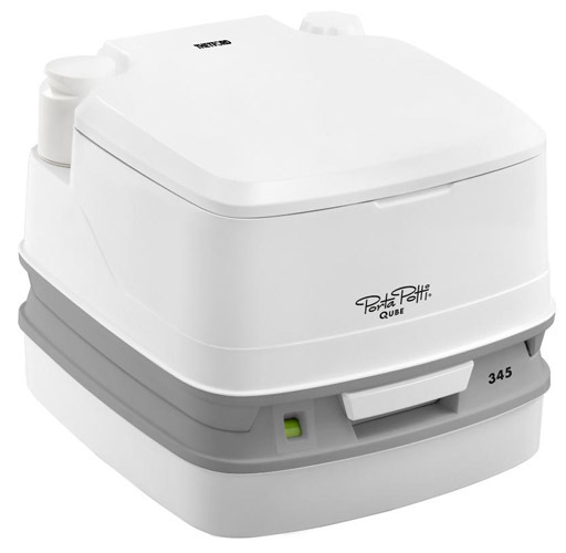 thetford porta potti qube 345 portable toilet. Black Bedroom Furniture Sets. Home Design Ideas
