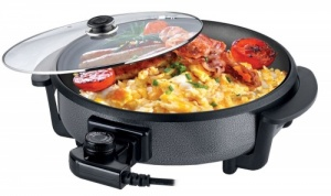 Leisurewize Multi Function Electric Cooker Skillet