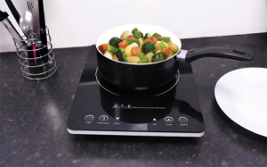 Leisurewize Induction Hob With 9 Power Settings from 300W-2000W