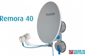 Maxview Remora 40 Suction Mount Portable Satellite TV Kit