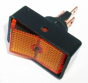 Rocker Switch 16A @12V - Red