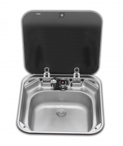 Smev 8006 Sink with Glass Lid