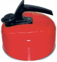 Royal 1 Litre Camping Whistling Kettle - Red