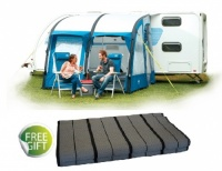 Royal Wessex Air 260 Inflatable Caravan Porch Awning And FREE Luxury Carpet