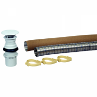 Truma S3002/S3004 Gas Fire Heater Flue Kit 2.5m
