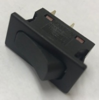 Rocker Switch 240v 16A Black