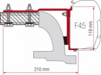 Fiamma F45 Awning Adapter Kit - Mercedes Vito (Before 2004)