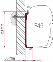 Fiamma F45 Awning Adapter Kit - S 120