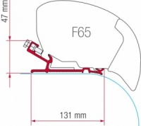 Fiamma F65 / F80 Adapter Kit - Autocruise