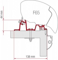 Fiamma F65 / F80 Adapter Kit - Hobby Premium