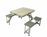 SunnCamp Aluminium Table & Chair Set