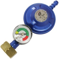 IGT Butane Screw On Gas Regulator With Level Gauge