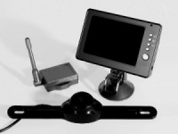 Streetwize Wireless Reversing Camera With 3.5'' LCD Screen