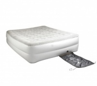 Coleman Raised Quickbed Queen Double Inflatable Airbed Mattress