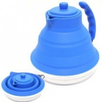 Sunncamp Collapsible Silicone Kettle (Blue)