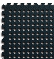 Leisurewize Interlocking Awning Floor Tiles - Black